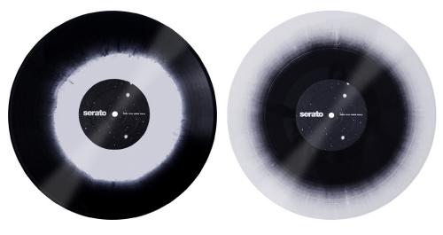 Serato Control Vinyl [Snow Black]