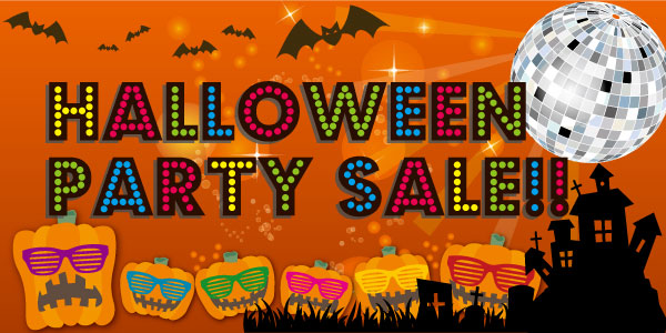 �u�p�[�e�B�[��Y�vpresents�uHALLOWEEN PARTY SALE�v�I�I