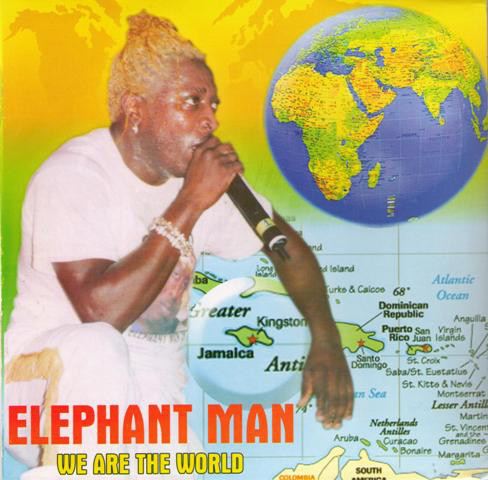 商品詳細 : 【中古・USED】ELEPHANT MAN(7INCH/45回転盤) WE ARE THE WORLD【RAGGAE】