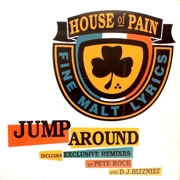 商品詳細 : 【中古・USED】HOUSE OF PAIN(12) JUMP AROUND【HIPHOP】