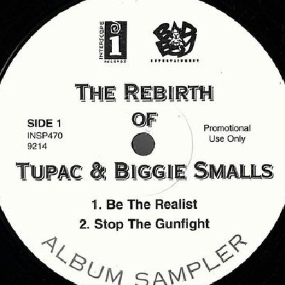 商品詳細 : 【中古・USED】TUPAC & BIGGIE SMALLS(12) THE REBIRTH【HIPHOP】