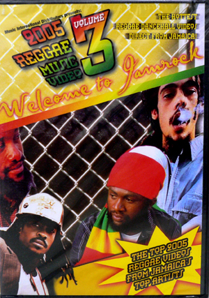 商品詳細 : V.A.(DVD) 2005 REGGAE MUSIC VIDEO VOL.3