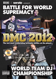 商品詳細 : DMC(DVD)DMC 2012 BATTLE FOR WORLD SUPREMACY & WORLD TEAM DJ CHAMPIONSHIP