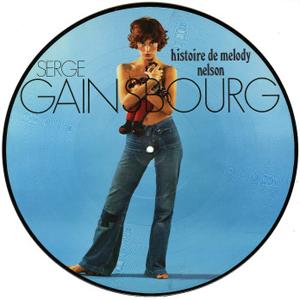SERGE GAINSBOURG�@(�Z���W���E�Q���X�u�[��)�@(LP)�@�^�C�g�����FHISTOIRE DE MELODY NELSON