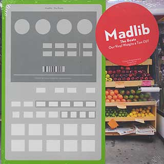 商品詳細 : MADLIB (10inch) THE BEATS 【download card 付!】