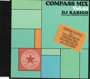 商品詳細 : DJ RARIGO(MIX CD)COMPASS MIX VOL01