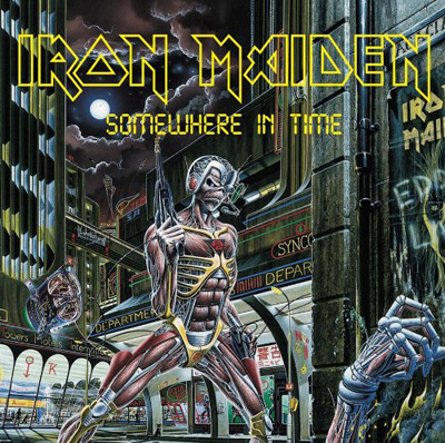 商品詳細 : IRON MAIDEN(LP 180g重量盤) SOMEWHERE IN TIME