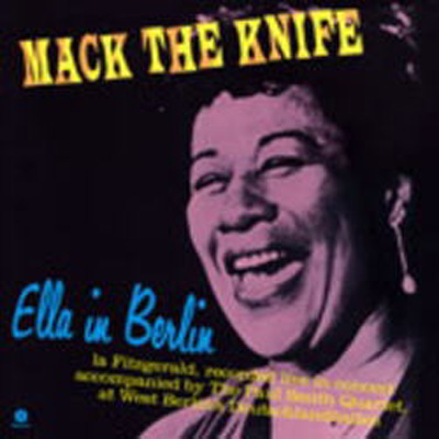 商品詳細 : ELLA FITZGERALD(LP/180g重量盤) ELLA IN BERLIN MACK THE KNIFE