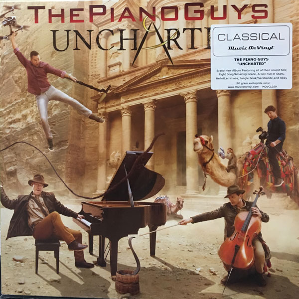 商品詳細 : THE PIANO GUYS(LP 180g重量盤) UNCHARTED【高音質!MUSIC ON VINYL盤】