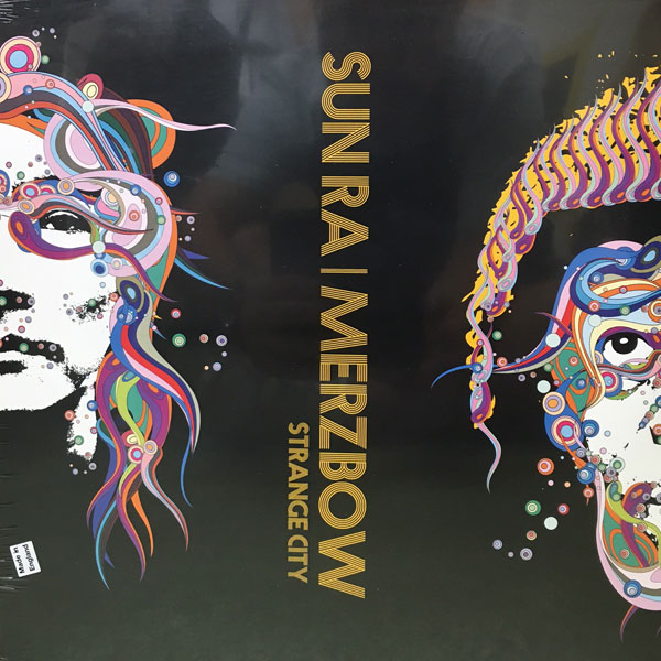 商品詳細 : SUN RA/MERZBOW(LP) STRANGE CITY