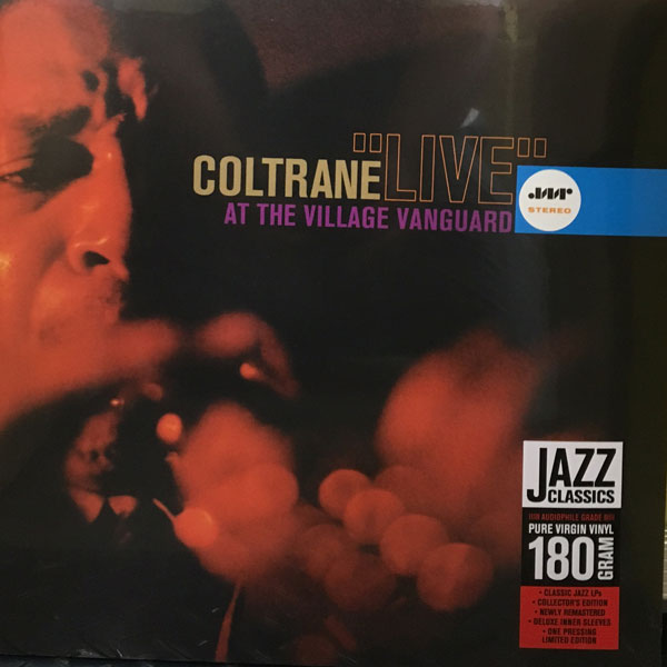 商品詳細 : JOHN COLTRANE (LP/180G重量盤) LIVE AT THE VILLAGE VANGUARD【高音質!JAZZ WAX RECORDS】