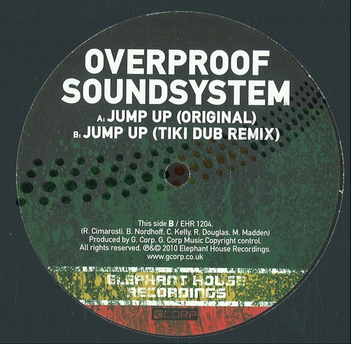 商品詳細 : 【中古・USED】OVERPROOF SOUNDSYSTEM(12inch)KINGSTEP