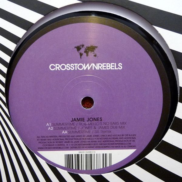 商品詳細 : 【中古・USED】JAMIE JONES (12inch) Summer time