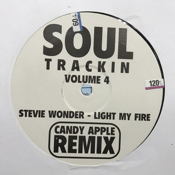 商品詳細 : 【中古・USED】STEVIE WONDER(12/45rpm) LIGHT MY FIRE CANDY APPLE REMIX