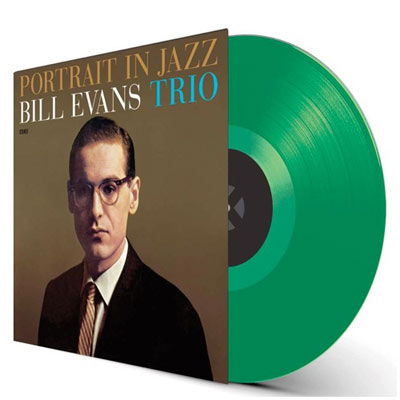 商品詳細 : BILL EVANS TRIO(LP 180g重量盤) PORTRAIT IN JAZZ + 1BONUS TRACK【高音質!WAX TIME 限定カラー盤】