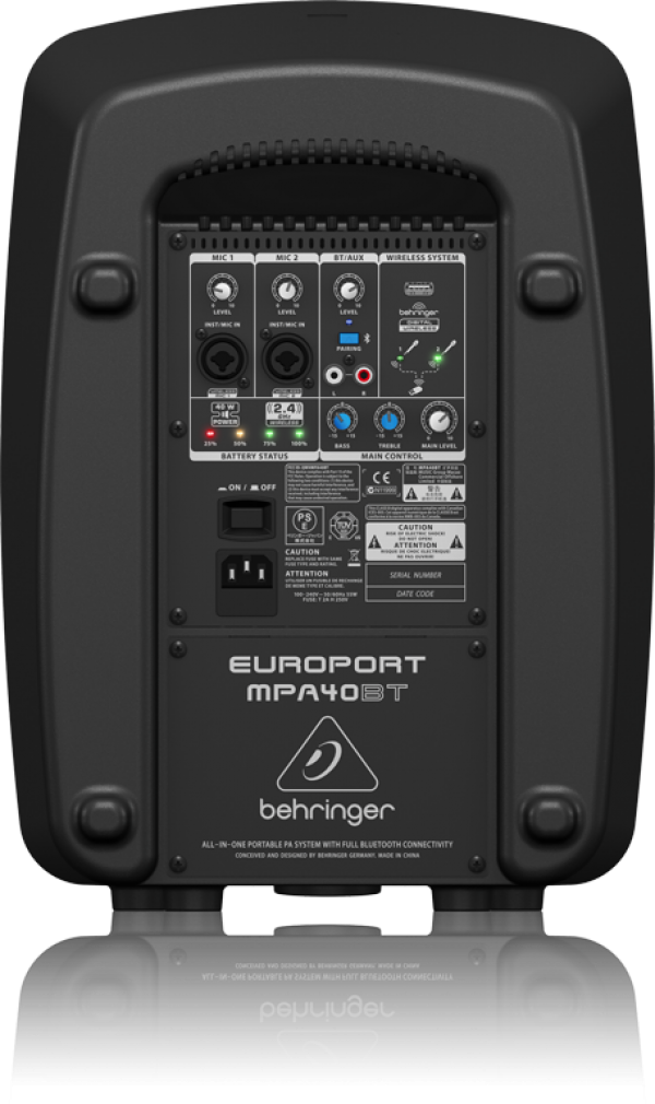 BEHRINGER(ベリンガー) MPA40BT EUROPORT