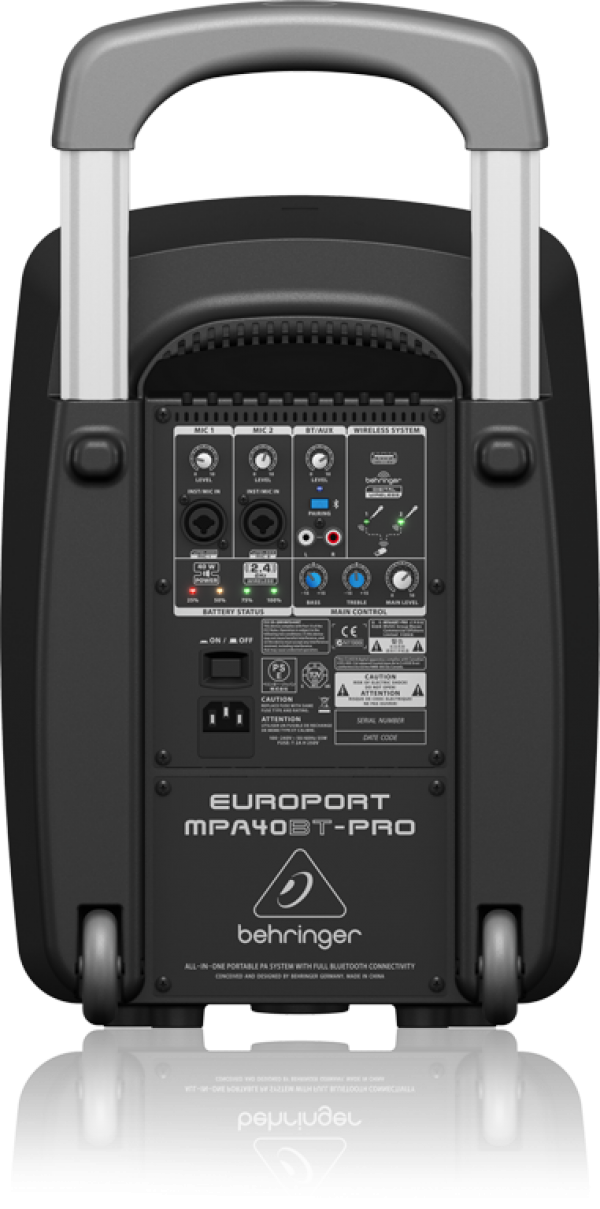BEHRINGER(ベリンガー) MPA40BT-PRO EUROPORT