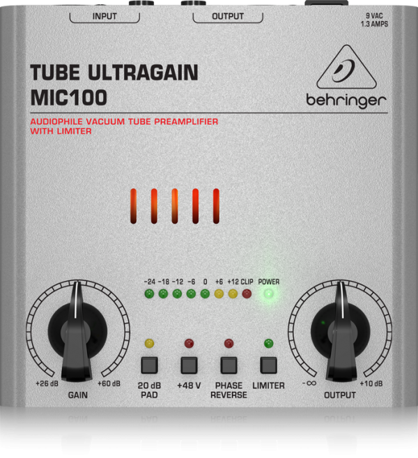 BEHRINGER(ベリンガー) MIC100 TUBE ULTRAGAIN