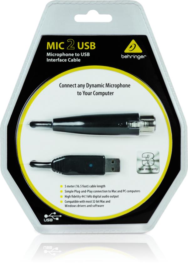 BEHRINGER(ベリンガー) MIC 2 USB
