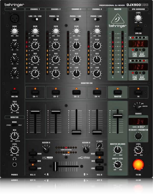 BEHRINGER(ベリンガー) DJX900USB PRO MIXER