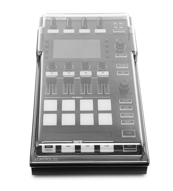 商品詳細 : DECKSAVER/機材カバー/DS-PC-KONTROLD2★Native Instruments TRAKTOR KONTROL D2専用!