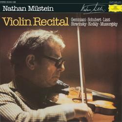 NATHAN MILSTEIN (ナタン・ミルシテイン) (LP 180g重量盤) タイトル名:ヴァイオリン・リサイタル 【500枚限定生産!!】