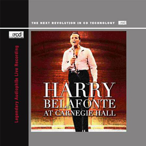 HARRY BELAFONTE AT CARNEGIE HALL
