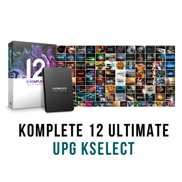商品詳細 : NATIVE INSTRUMENTS/サウンドライブラリ/KOMPLETE 12 ULTIMATE UPG for KSELECT★tunecoreチケット付属!