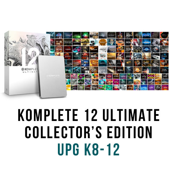 KOMPLETE 12 ULTIMATE Collector's edition アップグレード版 for K8〜12