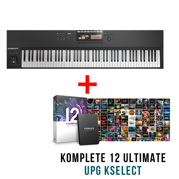 商品詳細 : KOMPLETE KONTROL S88 MK2、KOMPLETE12 ULTIMATE UPG for SELECT付きセット★tunecoreチケット付属!