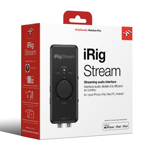 商品詳細 : IK Multimedia/オーディオインターフェイス/iRig Stream