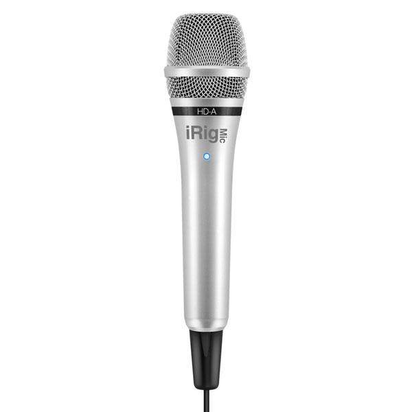 IK Multimedia iRig Mic Studio Digital Condenser Microphone Black FREE APPS