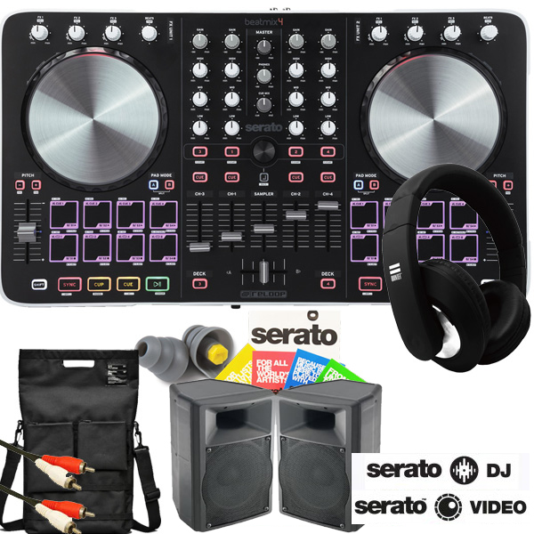 商品詳細 : BEATMIX4serato DJ&VIDEOアルティメイトセット(serato dj/video/VOYAGE/PP3/GX-1/Unit Portables/Thunderplugs/seratoステッカー/PAD MASTER/SCRACHLIFE)★HOW TO DJ講座 進呈!