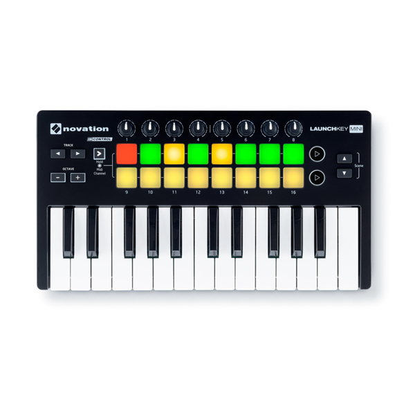 商品詳細 : 【台数限定!iTrack Pocketバンドル!】novation/MIDIコントローラー/Launchkey Mini MK2★Ableton Live Lite付属