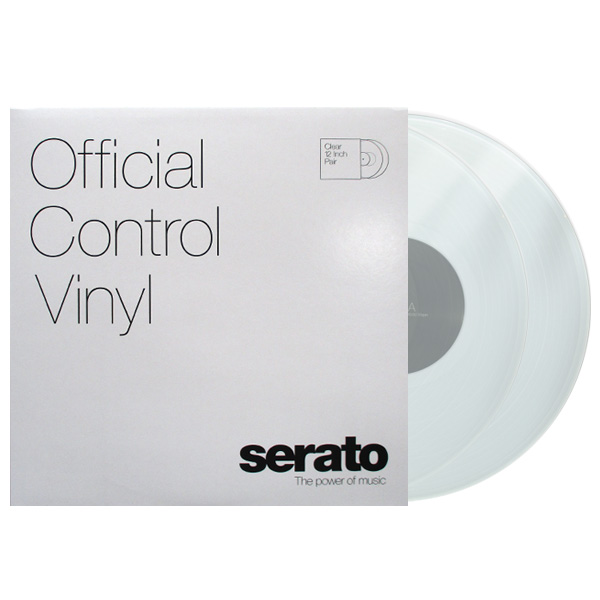 商品詳細 : SERATO PERFORMANCE SERIES(2LP) CONTROL VINYL [CLEAR/クリア]
