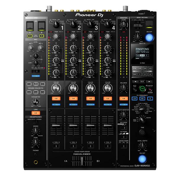商品詳細 : 【クラブ設置の定番!最高峰4CH DJミキサー!】Pioneer DJ/DJミキサー/DJM-900NXS2