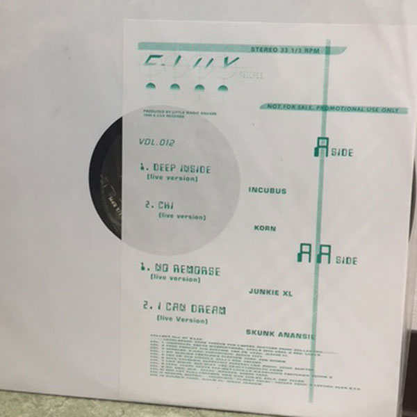 商品詳細 : V.A.(12) E-LUX RECORDS VOL.12