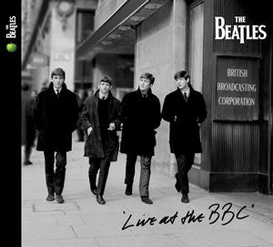 「ライヴ・アット・ザ・BBC」ジャケットのビートルズ