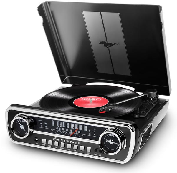 商品詳細 : 【中古品】ION AUDIO/レコードプレーヤー/Mustang LP BK