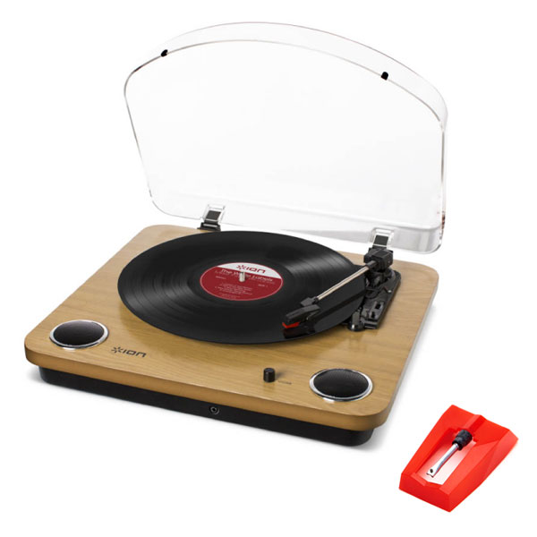 商品詳細 : 【中古美品】ION Audio/レコードプレーヤー/Max LP+4RB ELIPTICAL(楕円)