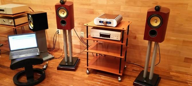 audioquest  JITTERBUGを試聴してみました。