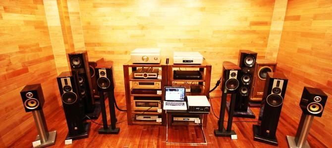 D&Mな週末。先月発売のDRA-100,PMA-SX11,DCD-SX11を聴きまくり。