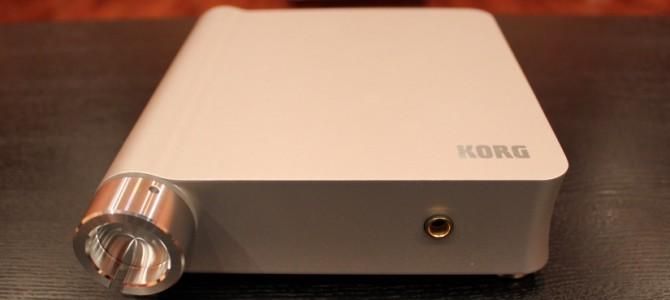 レコードをDSD音源に出来るKORG DS-DAC-10Rを入荷しました。