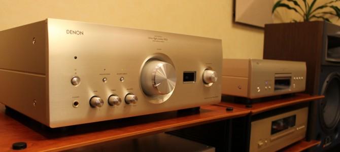 注目のDENON PMA-2500NE & DCD-2500NEを展示しました。