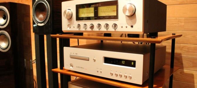 LUXMAN D-05u&L-550AXを試聴しました。
