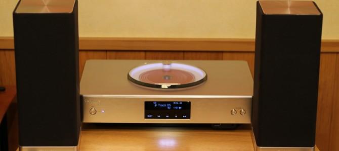 Technicsのお洒落で音のいい、CDステレオシステム SC-C500-Sのご紹介です。