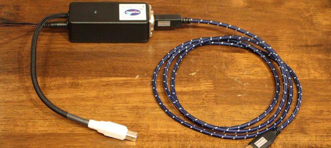Aurorasoundの画期的なUSBケーブル&USBバスパワー用電源のご紹介です。