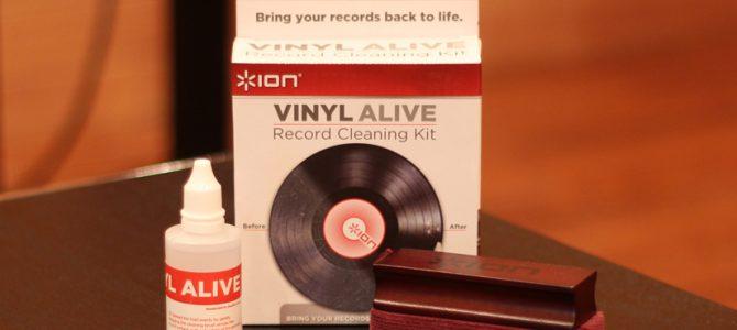 ION Audioのレコードクリーナー・キット「VINYL ALIVE」のご紹介です。