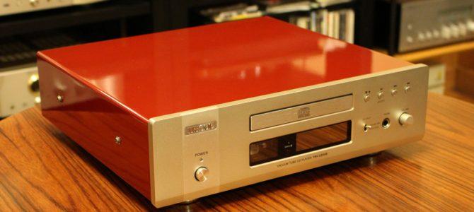TRIODEのCDプレーヤー TRV-CD5SEを入荷致しました。