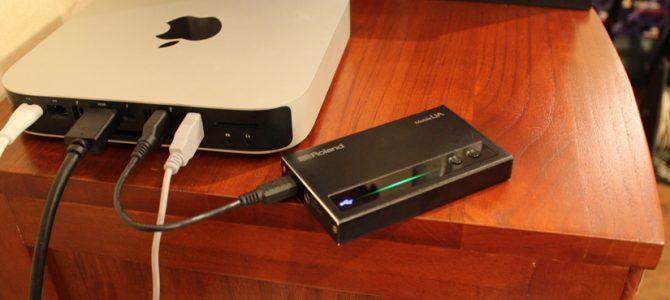 1万円台で買えるDSD対応USB-DAC兼ヘッドフォンアンプ Mobile UAのご紹介です。
